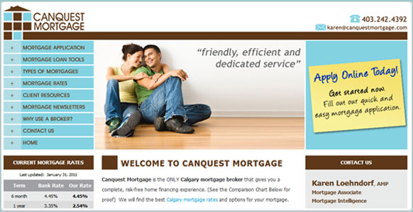 Canquest Mortgage Broker Calgary